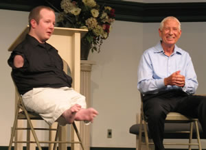Chet and Jim McDoniel speak at Altamesa Church of Christ