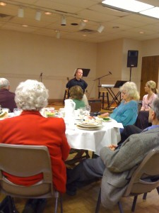Chet McDoniel speaks at Fenton Right-to-Life
