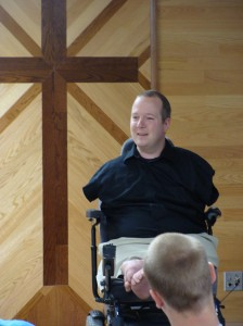 Fuse Foundation Retreat - Chet McDoniel speaks on happiness