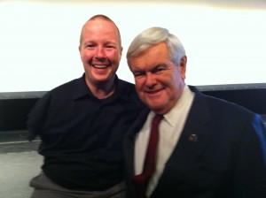 Pro Life Speaker, Chet McDoniel, and Fmr. Speaker, Newt Gingrich