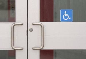 Customers With Disabilities Doorway