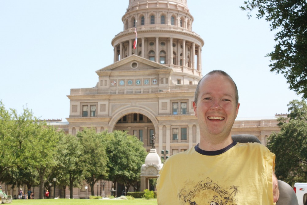 Pro Life Speaker Chet McDoniel at Texas State Capitol